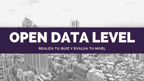 Evalúa el grado de apertura de tus datos